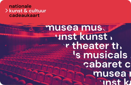 Theaterbon Nationale Kunst Cultuur Cadeaukaart